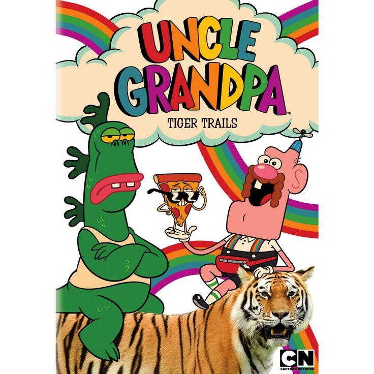 Uncle Grandpa Tiger Trails