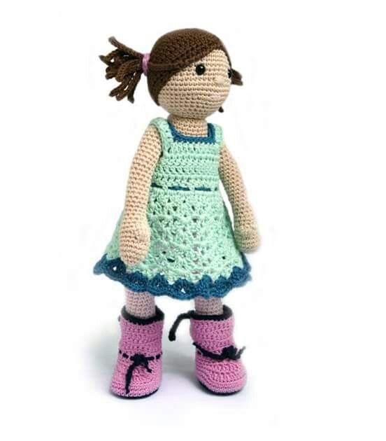 1503 best muñecas amigurumi images on Pinterest | Muñeca amigurumi ...