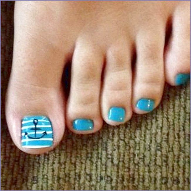 Pictures of Toe Nail Designs for Colorful Summer Days