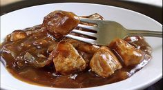 Pechugas de pollo al vinagre balsámico