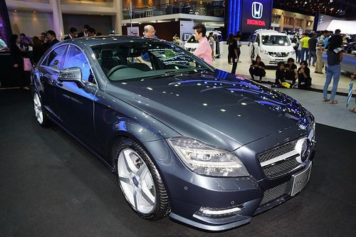 Mercedes CLS 250 CDI at the 30th Thailand International Motor Expo 2013