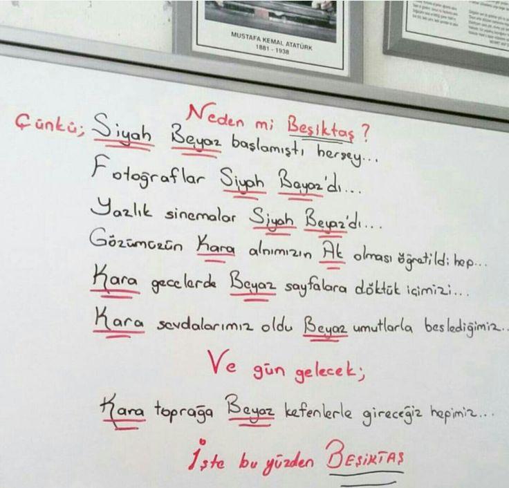 İşte bu yüzden #Beşiktaş
