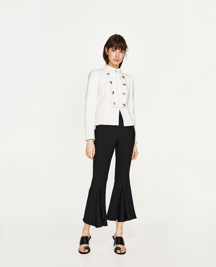 ZARA - WOMAN - DOUBLE BREASTED BLAZER