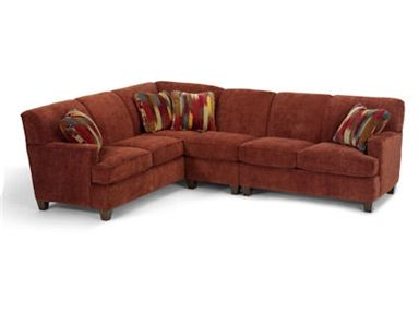 Flexsteel 5641 Sectional At Furniture Mall Of Kansas In Topeka, KS And  Lawrence,