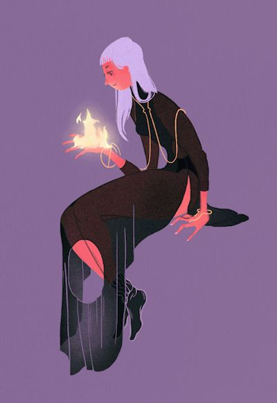 my belated witchsona!!