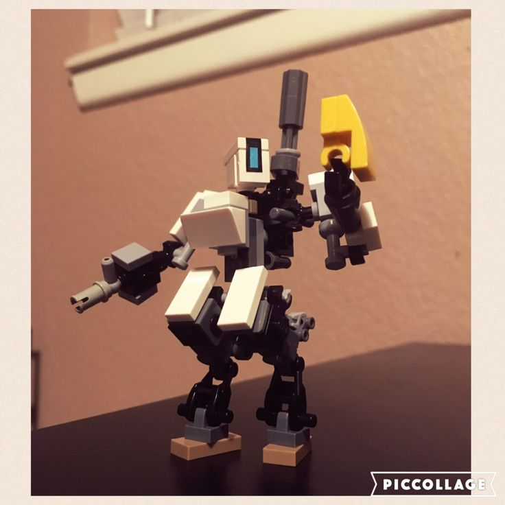 I made a lego Bastion from Overwatch. Enjoy!