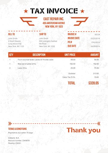 The 25+ best Invoice creator ideas on Pinterest Free invoice - online invoice creator