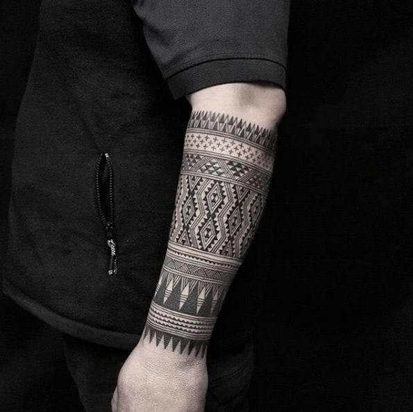 Simple Black Band Mens Forearm Tattoos Band Tattoos For Men Black Band Tattoo Band Tattoo