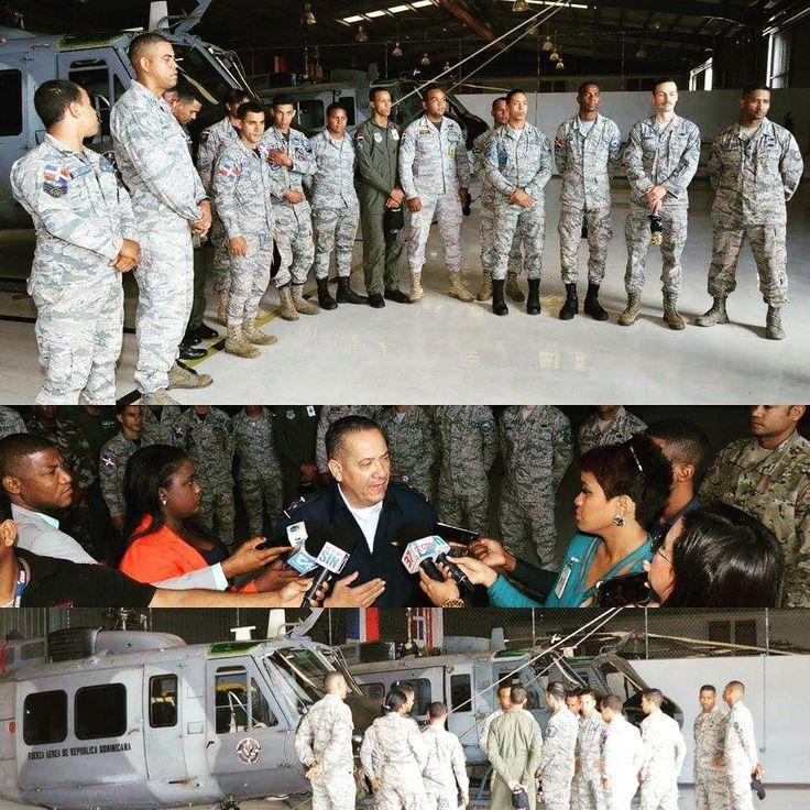 Un contingente de aproximadamente 50 miembros de la institución reciben entrenamiento y capacitación de parte de personal de la Fuerza Aérea del Comando Sur de los Estados Unidos que se encuentra en la Base Aérea San Isidro brindando instrucciones a personal de la Fuerza Aérea de República Dominicana en las áreas de mantenimiento de aeronaves de alas rotatorias seguridad de base así como de búsqueda y rescate.  En un encuentro con la prensa durante el inicio del entrenamiento el Sargento…