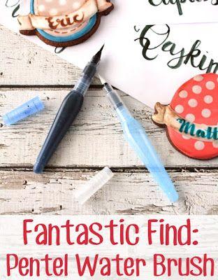 LilaLoa: Fantastic Find Friday -- Pentel Water Brush