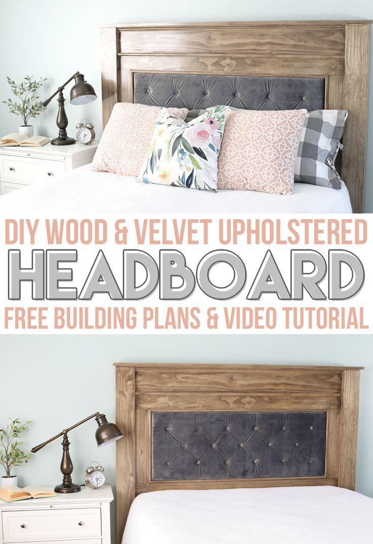 Diy Wood Upholstered Headboard Diy Headboard Upholstered