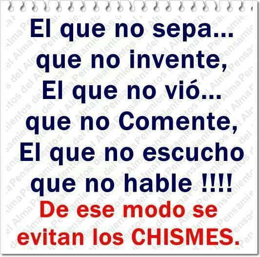 Chismes