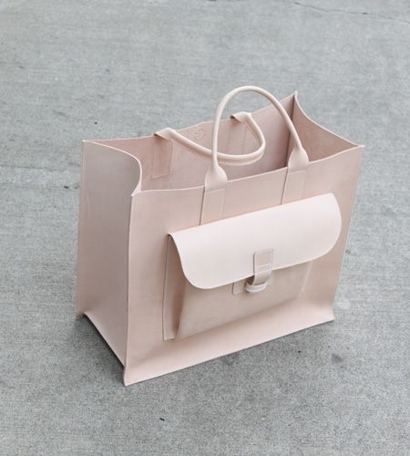Oh we love these bags..   you could make similar. http://lapco.co.nz/index.php/leather-craft-tools-books/precut-leather-and-straps/diy-leather-craft-kit-classic-tote-bag.html