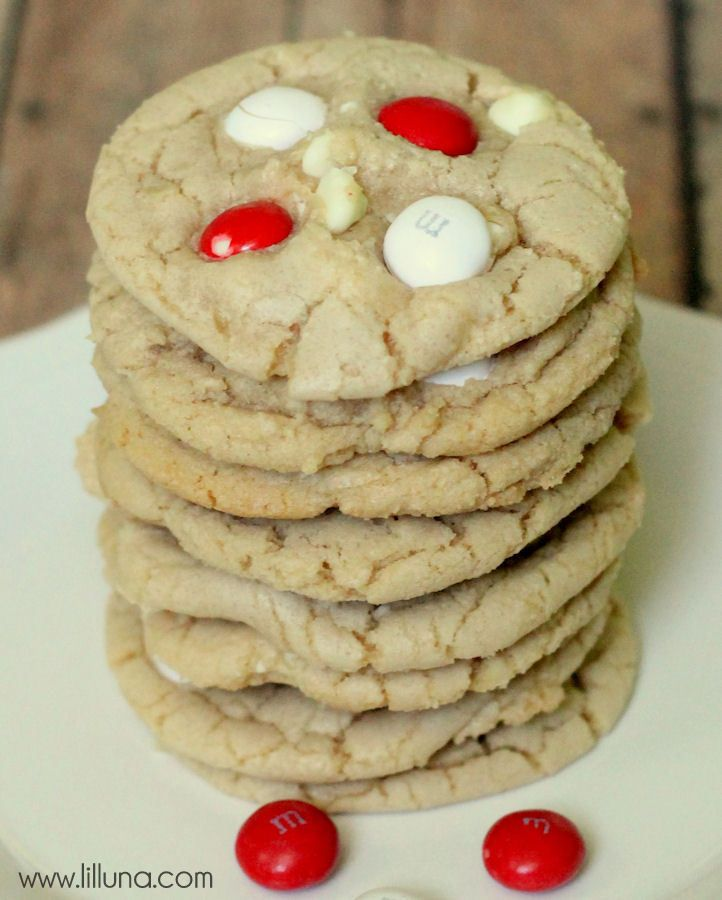 Peppermint White Chocolate Chip Cookies Recipe — Dishmaps