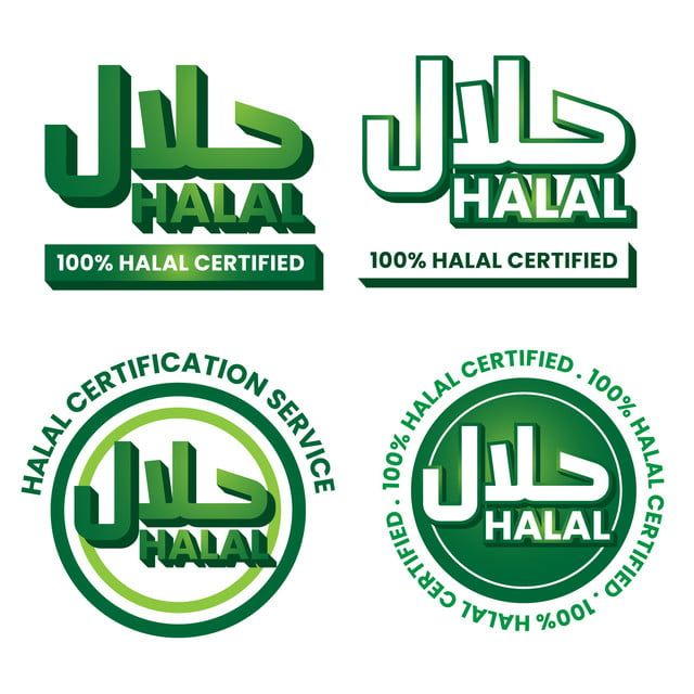 Halal Logo Collection Halal Label Muslim Halal Product Png And Vector With Transparent Background For Free Download In 2020 Logo Collection Logo Design Free Templates Logo Design Template