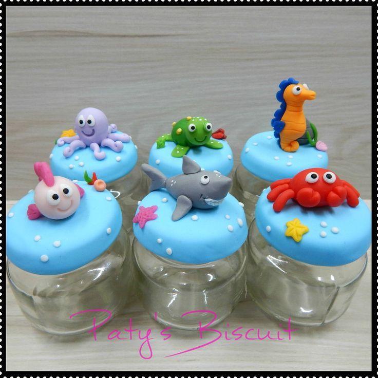 peixinhos feito em biscuit - Pesquisa Google