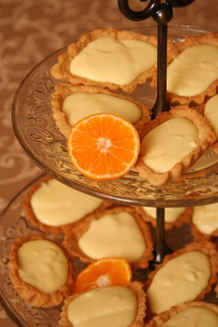 orange cream tarts