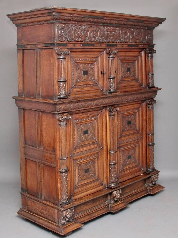 18th Century Carved Flemish Oak Cupboard   From a unique collection of antique and modern cupboards at https://www.1stdibs.com/furniture/storage-case-pieces/cupboards/