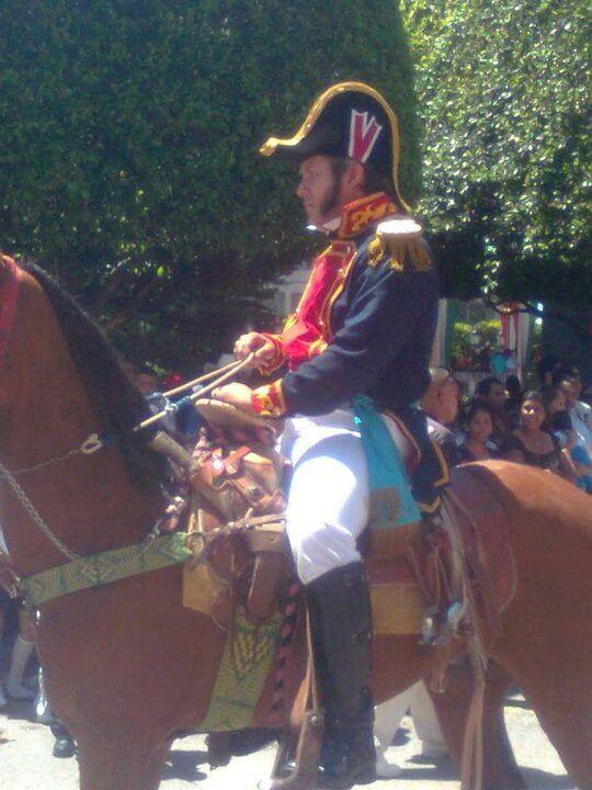 Personificación de Ignacio Allende. Desfile 16 de ...