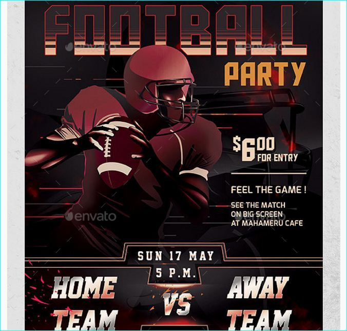 50 best Football Flyer Templates images on Pinterest Flyer - football flyer template
