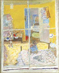 QAG Sophie in her bedroom 1974 - Bonnard influence evident