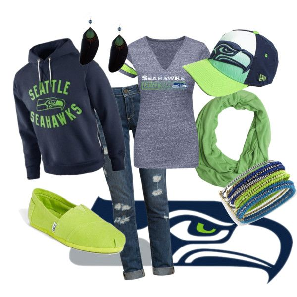 """""""Seattle Seahawks"""" by ashley-patrice-powell on Polyvore"""