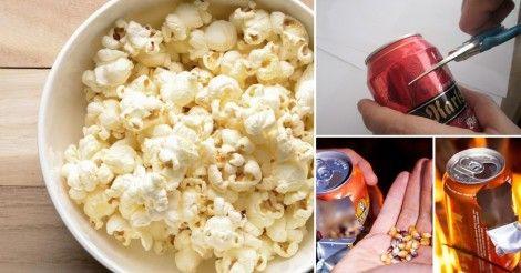 Cómo+hacer+palomitas+de+maíz+con+una+lata