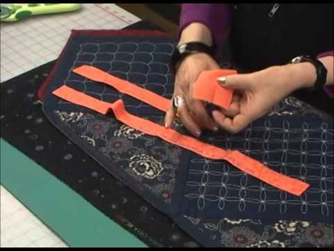 Sharon Pederson - Lesson 9 Add a Quilt Label to the Binding