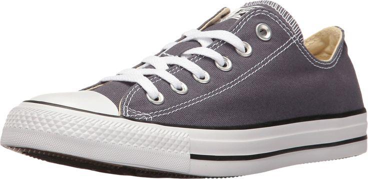 Converse Unisex Chuck Taylor All Star OX Fashion Sneaker Shoe - Sharkskin - Mens - 11.5