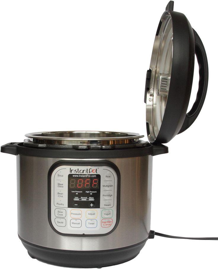 Instant Pot IP-DUO60 7-in-1 Multi-Functional Pressure Cooker, 6Qt/1000W