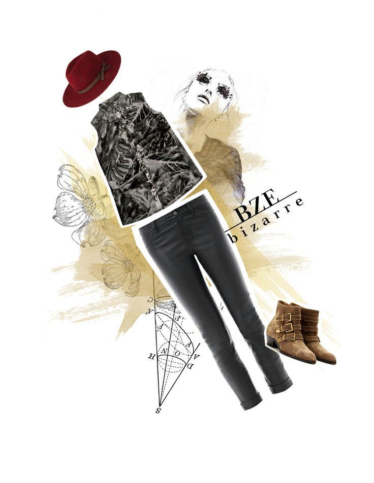 Arma el Look con BIZARRE 2013 II  Blusa: $79.900 Pantalón: $119.900