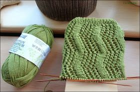 ZigZag Socks http://www.ravelry.com/patterns/library/zig-zag-socks-2 66 Gesamtmaschen Wolle: Cotton Stretch von Rödel-Wolle Nade...