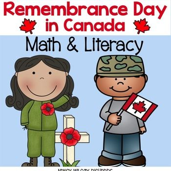 These Remembrance Day math and literacy activities are NO PREP (with one very low prep activity) and are fun and engaging for K-3! This resource has OVER 20 ACTIVITIES to help honour Remembrance Day. Included Are: Facts About Remembrance Day Did You Know? (2) (more facts about Remembrance Day) Remembrance Day, Show What You Know (2 versions) Word Bank Writing Activity Open-Ended Writing Activity We Will Remember (recording facts and illustrating them) In Flanders Fields Acrostic Poem Design…