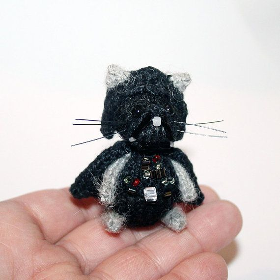 Cat Vader by SecretFriends on Etsy