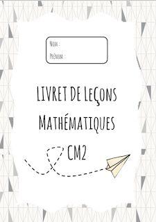 Leçons maths CM2