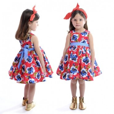 RYB Red Floral Mad Men Dress  $49.99 Limited Sizes Left