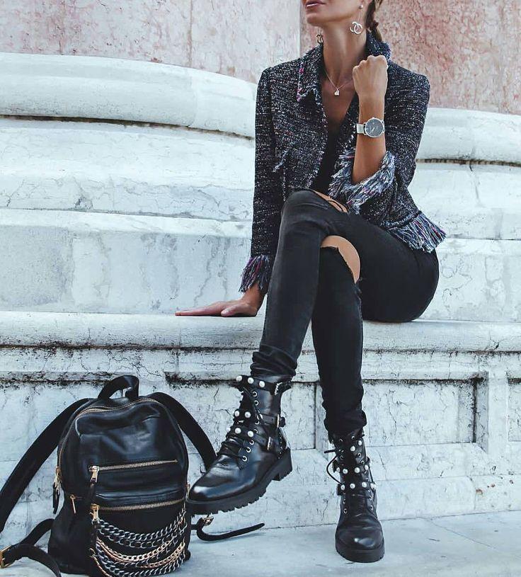 "911 Likes, 8 Comments - Manhattan Fashion Styles (@manhattan_fashion_styles) on Instagram: ""via @street_style_paris ; @realfashionist """