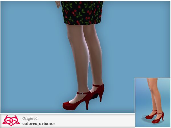 vintage inspired shoes to complement your look vintage, pin up, retro and  rockabilly Found in TSR Category 'Sims 4 Shoes Female'