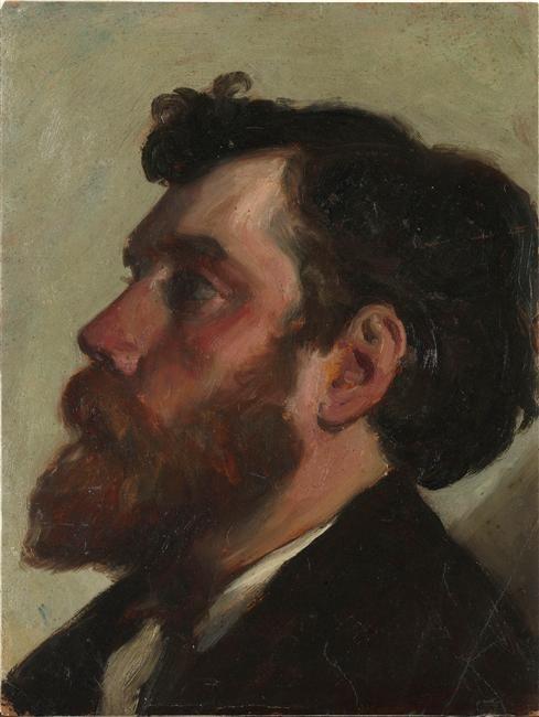 Carolus-Duran   Tête d'homme barbu   Images d'Art