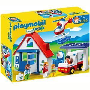 UNIVERS MINIATURE Playmobil Coffret Hôpital