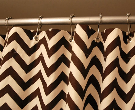 Curtains Ideas chevron stripe shower curtain : 17 Best ideas about Brown Shower Curtains on Pinterest | Apartment ...