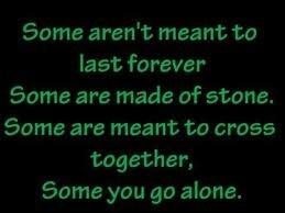 I GO ALONE