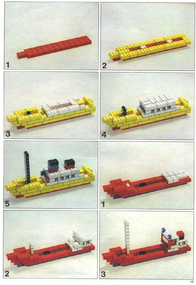 boten van lego                                                       …                                                                                                                                                                                 Mehr