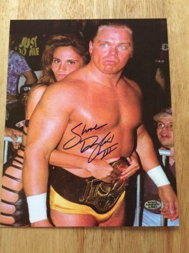SHANE DOUGLAS Signed Autograph 8x10 Photo WWF WWE WCW ECW With Hologram COA