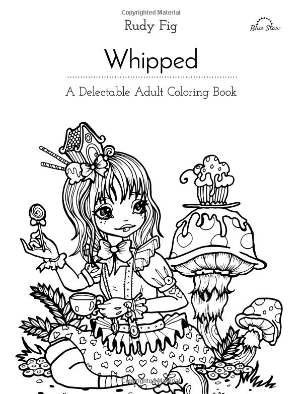 Mejores 13 imágenes de whipped coloring book en Pinterest | Libros ...