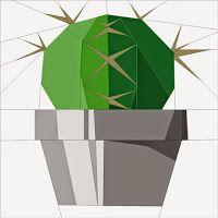 Quilt Art Designs PP cactus