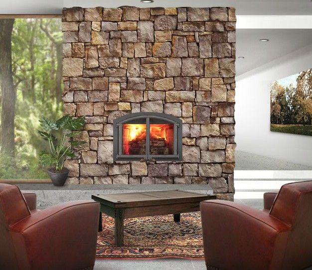 The 7 best images about Fireplace on Pinterest   Wood burning ...