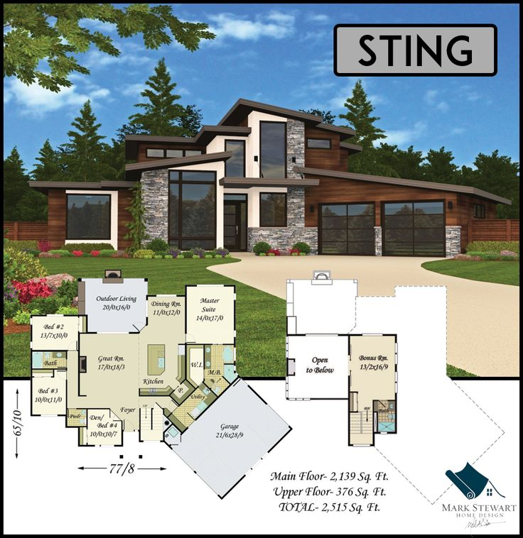 Sting from Mark Stewart Home Design is