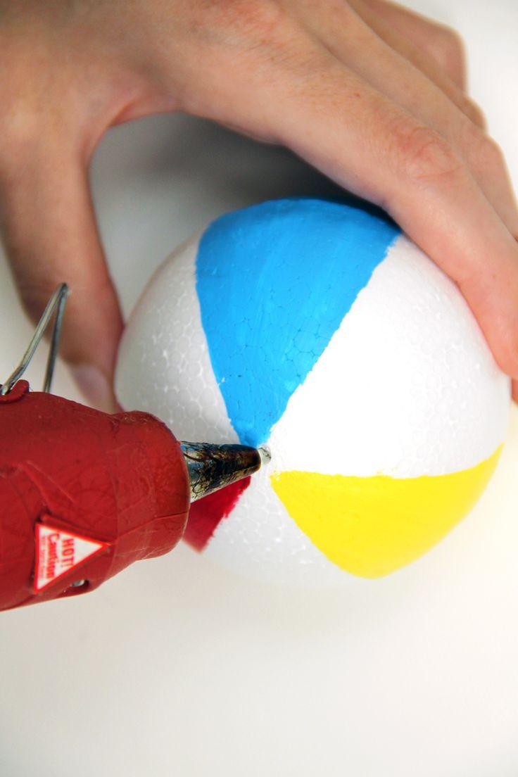Make a Beach Ball Garland