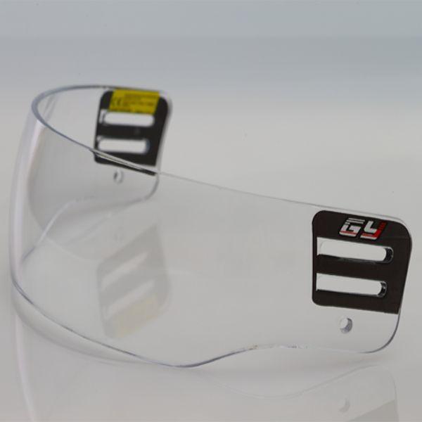 Sport Équipement De Protection fumée Visage Bouclier hockey Visière V600 avec approbation de la ce à l'extérieur anti-scratch et à l'intérieur anti-brouillard